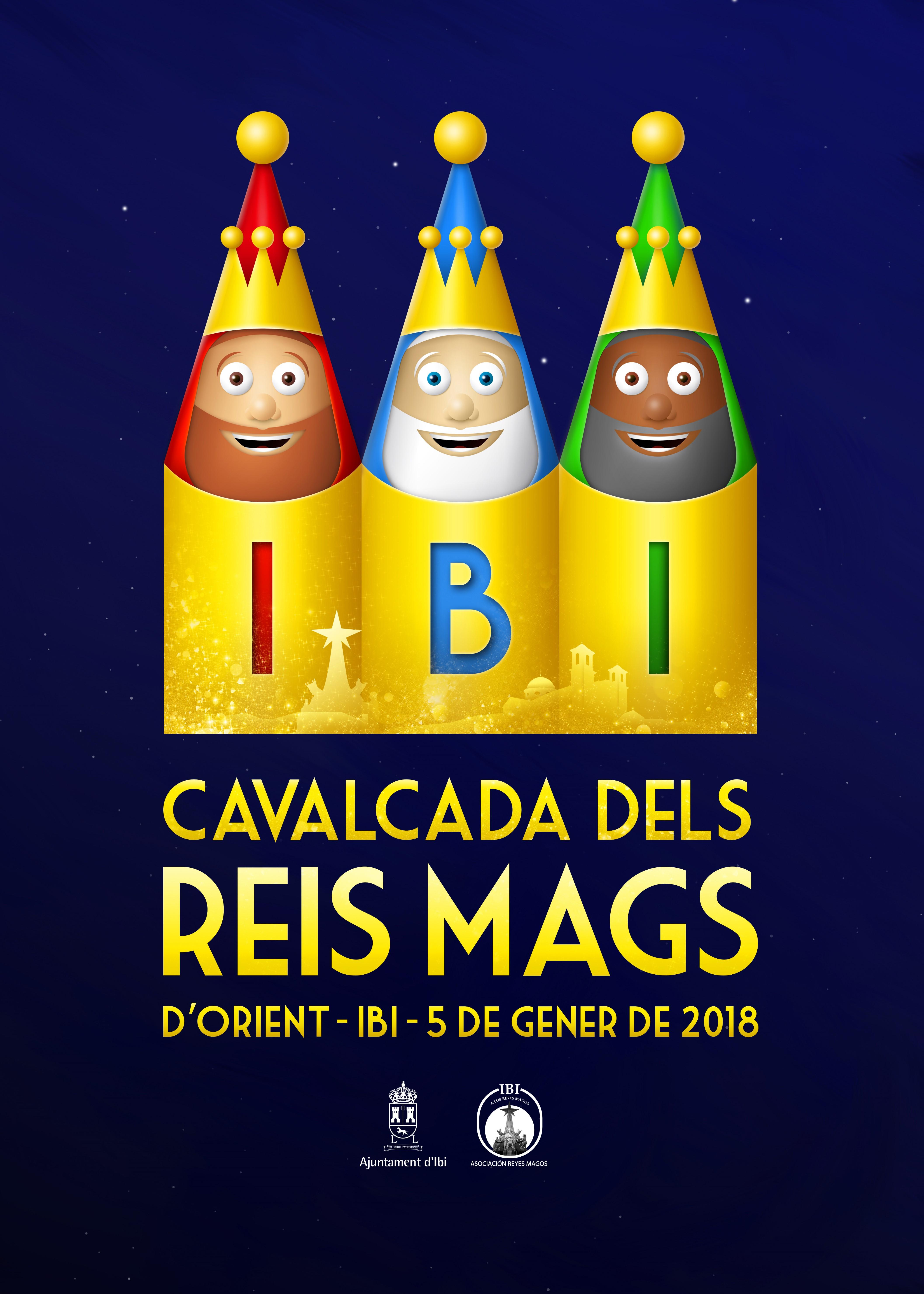 Presentació del Cartell Anunciador de la Cavalcada de Reis d'Ibi 2018 / Presentación del Cartel Anunciador de la Cabalgata de Reyes de Ibi 2018
