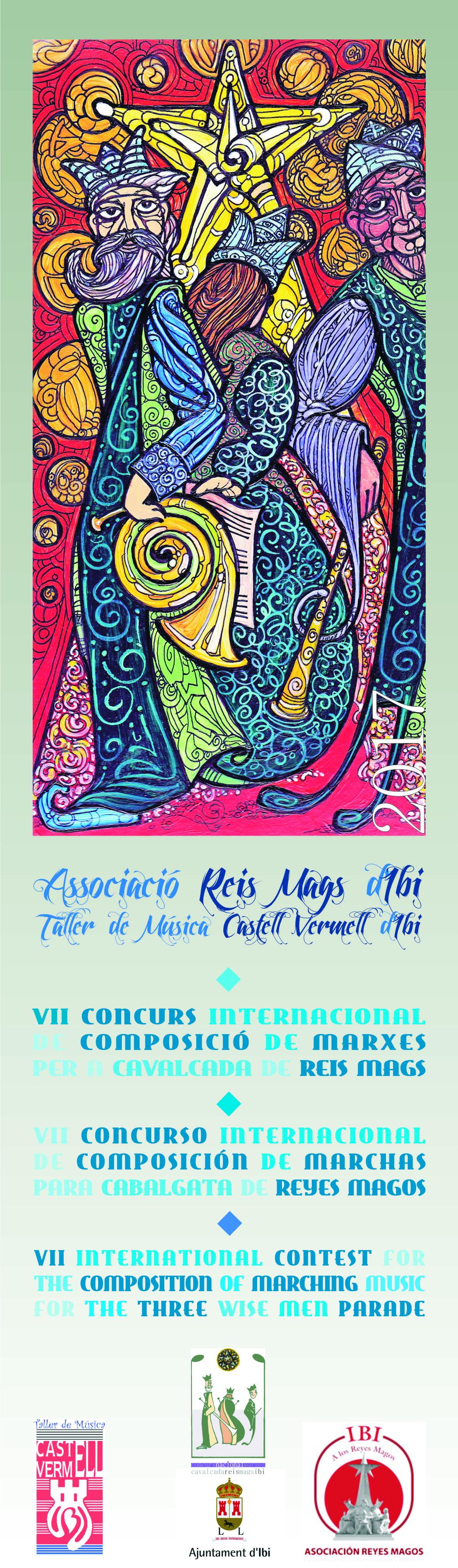 Bases VII Concurs Composició Marxes Cavalcada Reis Mags / Bases VII Concurso Composición Marchas Cabalgata Reyes 2017