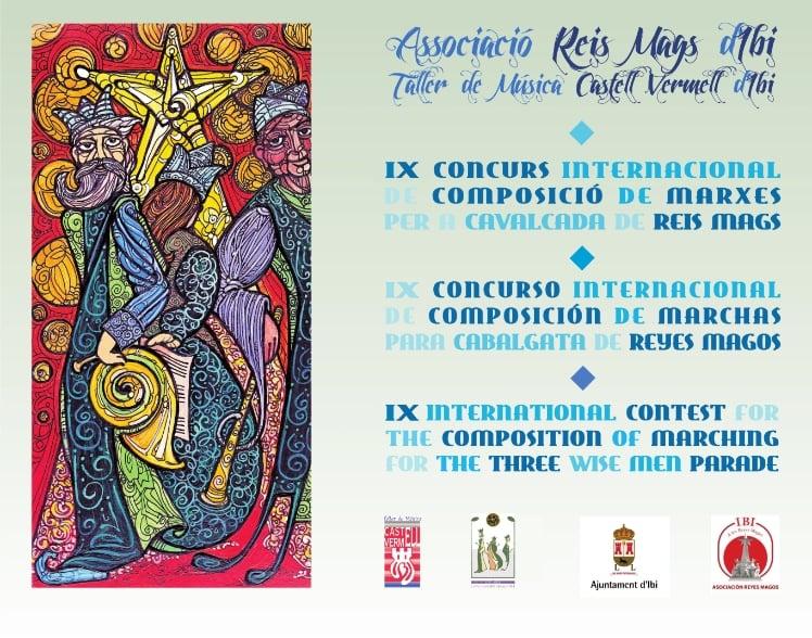 Bases IX Concurso Internacional de Marchas para Cabalgatas de Reyes Magos de Ibi