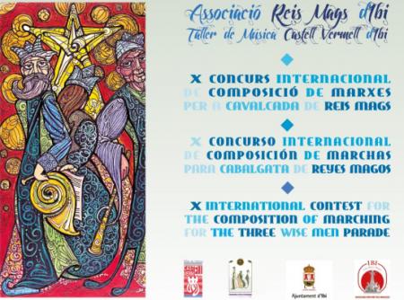 Bases X Concurso Internacional de Marchas para Cabalgatas de Reyes Magos de Ibi