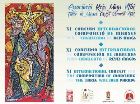 BASES XI CONCURSO INTERNACIONAL DE MARCHAS PARA CABALGATAS DE REYES MAGOS DE IBI